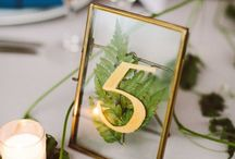Table Numbers Decor