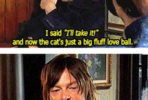 norman reedus being to cute