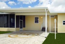 The Osprey Model at Tall Oaks of Naples / This 3 Bedroom 2 Bath (1,286 sq ft) home is on display at Tall Oaks of Naples