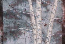 trees and leaf