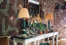 chinese wallpaper / by Jessica Claire Interiors