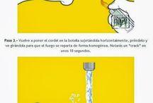 Usos Botella de vidrio