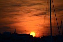 Tramonto Arancione / Trani, Puglia, una Domenica pomeriggio
