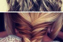 Frisuren / Frisuren für lange und mittlere Haare