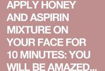 Aspirin & honey