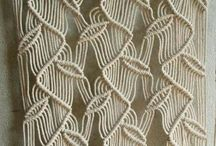 macrame leaves