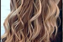 blonde caramel highlights