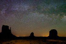 Unter freiem Sternenhimmel / Under the open starry sky / Nachts offenbart der Himmel seine ganze Schönheit / At night the sky reveals its entire beauty