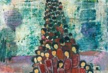 Nabil Anani / Nabil Anani is born in Latroun Palestine in 1943. He is one of the most prominent Palestinian artists today. Anani is considers among many as the founder  of contemporary Palestinian Art Movement. Upon graduating in fine arts from the University of Alexandria, Egypt in 1969,