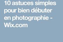 photographier astuces