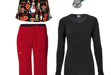 allheart scrubs outfit inspiration / Styling secrets from the scrub experts at allheart.com!