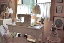 Beatrice Euphemie's sewing room