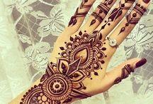 Hena and tattoos