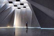 Raum und Lichtwirkung