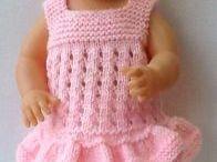 kleine babypopjes kleding maken