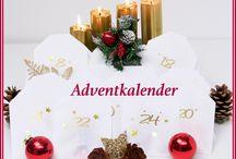 Rund um Weihnachten / Adventkalender, Weihnachts Deko, Weihnachtsbäume, Weihnachts Schmuck, Schmuck für Weihnachten, Rezepte