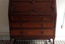 Antique Desk,Bureau / イギリス、フランス、ヨーロッパ、アメリカのアンティークのデスク、ライティングビューローです。
