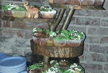 Camo party / Camo party ideas. Birthday cake, party food, treats, decorations and more.