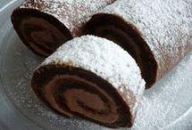 čokoládové rolada