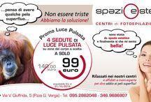 PROMO LUCE PULSATA / SPECIALE PROMOZIONE SETTEMBRE LUCE PULSATA..... 4 SEDUTE A SOLO € 99 INVECE DI € 140