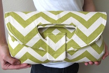 Chevron Idees / Bags, purses and home decors