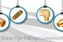 Brass Pipe Fittings Components