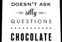 Monate Chocolate Chocolate doesn't ask silly questions.. Chocolate understands. Thanks to my friend to sending this to us for a good #giggle #chocolate @natalia_pelz #yoga
