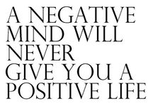 Stay positive! :)