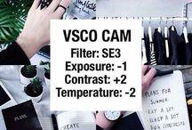 filtros de vsco