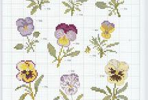 Borduren bloemen