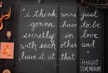 Lily Spruce Loves: Chalkboard Art