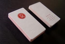 beautiful business cards / by roya b
