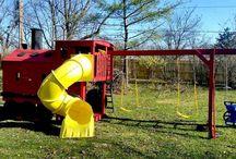 Train Swing Sets