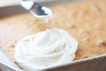Cake - frosting recepten