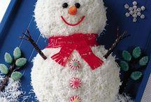 Julepynta kaker