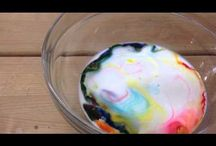 Science experiments for kids / Really cool science experiment kids are sure to love! It'll be a great rainy activity!