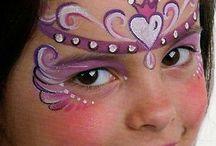 Maquillajes fantasía niñ@s