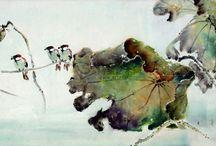 LingNan art / My teachers, teachers teacher, brothers and sisters of this art