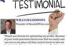 Testimonials / Client Testimonials.