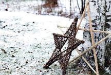 Scandinavian christmas decoration
