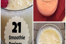 Smoothie Recipes--Perfect for a Mason Jar / We love to share recipes for smoothies that can be enjoyed in our mason jars. / by The Pint and a Half
