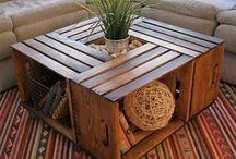 Manualidades con cajas de madera