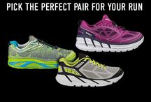 Running Shoes / Our favorite shoes to lace up and earn your miles.