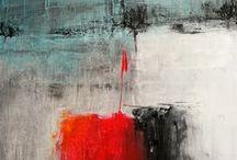 Abstrakta målningar