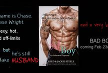 BAD BOY / Bad Boy by J.C. Reed and Jackie Steele Amazon US: http://amzn.to/1Ug7WYh Amazon UK: http://amzn.to/1mhZ4XA Amazon AUS: http://bit.ly/1OkiRQt Amazon CA: http://amzn.to/1mhZgpH Barnes & Noble: http://bit.ly/1TTAqGV iTunes: http://apple.co/1mrnOfR Kobo: http://bit.ly/1lVSrKh paperback: http://amzn.to/1Ug87Th  Goodreads TBR: http://bit.ly/20TYMs9   Sign up to my mailing list to be notified on release day and to enter a monthly giveaway to win a surprise gift: http://eepurl.com/bFUFVT