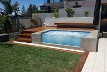Joshua garden and pool