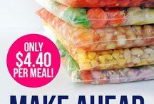 Full Crock / Make ahead meals.