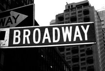 """Give My Regards to Broadway / """"There's no business like show business"""" -Irving Berlin / by Ellen Stucky"""