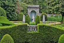 Gardens, Landscape, Verande