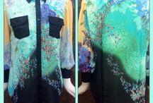 San Nizet Silk Shirts / On Trend feminine & urban silk shirts with nostalgic& floral prints